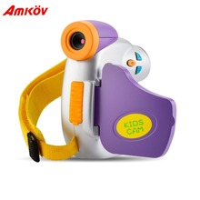 AMKOV 1.5 Inch TFT Colored Screen 5 Megapixel HD Kids Camera Children Digital Camera Educational Gift for Kids Learning(China)
