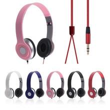 Hot Sales 3.5mm Headband Headphone Earphone Headset Stereo For iPod Laptop MP3/4 PC Tablet