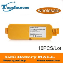 Wholesale 10PCS High Quality 14.4V 3500mAh Ni-MH Vacumm Cleaner Batteries For iRobot Roomba 400 405 410 415 416 418 4000