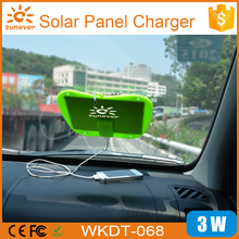 New electronic items china supplier mini usb solar panel charger/ mini usb solar panel charger/ portable sticky solar charger(China)
