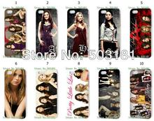 vcustom Mobile Phone Cases Wholesale 10pcs/lot Pretty Little Liars Protective White Hard Case For Iphone 4 4S Cases(China)
