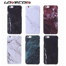 LOVECOM Marble Stone Painted Hard PC Mobile Phone Back Cover Case Coque For iphone 5 5S SE 6 6S Plus 7 7 Plus Shell Capa Fundas