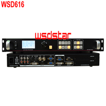 WSD616 LED screen video processor HDMI/DVI/VGA/CVBS 2304*1152 Support PIP & POP Support freeze images 2018 Hot Sales(China)