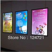 "Super Slim LED Poster Frames, Advertising Display 24""x36"" Size Led Light Boxes"