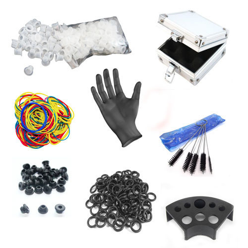 Tattoo Accesories Tattoo Ink Cup/Tattoo Rubber O Rings Grommets Nipples Case Tattoo kit Supplies Needle Machine FREE SHIPPING<br>
