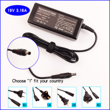 19V 3.16A Laptop Ac Adapter Battery Charger for Samsung VM7600 VM7700 VM6000 VM6300 VM7000 Q1 SF511I(China)