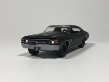 Green Light 1:64 1971 Chevrolet Chevelle SS boutique alloy car toys for children kids toys Model bulk freeshipping
