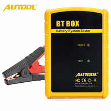 Original AUTOOL BT-BOX BT BOX Automotive Battery Analyzer Support Android/iOS Autool Btbox