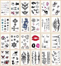 20 models Lot Tattoo Sex Products Temporary Tattoo For Man And Woman Waterproof Stickers(China)