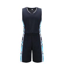 Factory direct supply empty jersey Basketball Training suit Quick-drying Breathable basketball jersey & shorts  sportswear