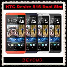 "HTC Desire 816 Dual Sim Original Unlocked GSM 3G Android Quad-core Mobile Phone 5.5"" WIFI GPS 8GB dropshipping(China)"