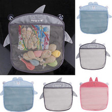 Wall Hanging Bathroom Storage Bags Bag Baby Bath Net Toy Basket Organizer Home Storage Accessories
