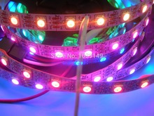 4m WS2811 LED digital strip,60leds/m with 60pcs WS2811 built-in tthe 5050 smd rgb led chip.non-waterproof,DC5V input(China)