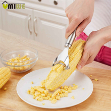 Household Gadget Kitchen Tools Corn Stripper Cob Remover Cutter Stainless Steel Corn Shaver Peeler Cooking Tool Accessories(China)