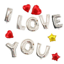 Brand New Foil Letters Balloons New Year Birthday Party and Wedding Ballons Decoration love Ballon