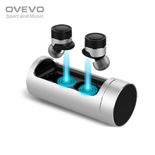 Original OVEVO Q62 Wireless Bluetooth Earphone with Charging Dock Mini Portable Stereo ANC Earphones for Phones PC(China)