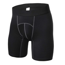 4 kleuren Mannen Compressie Gym Shorts Fitness Athletic Training Skin Tight Base Layer Outdoor H5(China)