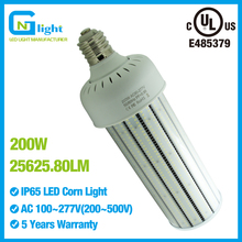 135 Lumens Per Watt IP64 UL Listing 200 Watt Mogul Base Led Corn Bulbs Convert  to E25 1000 Watt HPS Light Bulb