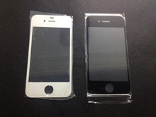 20pcs Black / White For iPhone 4 4S 4G Glass a good Replacement Repair Part Lens Outer LCD Front Screen wholesale