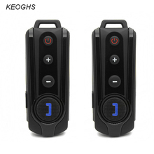 KEOGHS New 1000 meter motorcycle helmet headset bluetooth intercom earphone waterproof MP3 headphone