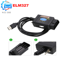 For Ford ELM 327 USB FTDI chip with switch Works on Forscan For Ford HS CAN /MS CAN car diagnostic Tool&ELM327 Bluetooth Version