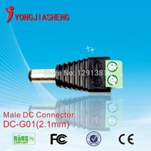 15PCS  CCTV male DC  BNC  balun  utp balun for CCTV  camera video balun  free shipping