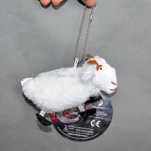 "Free Shipping 10/Lot New How To Train Your Dragon 2 WHITE SHEEP 5.5"" Plush Toy keychain(China)"