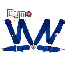 "Dyno racing - FIA 2017 blue color Homologation /Harness/Racing Satefy Seat Belt/width:3 ""4Point(China)"