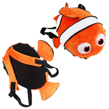 40cm Finding Nemo Plush Backpack Nemo Plush Bag Stuffed Toy for Boys and Girls(China)