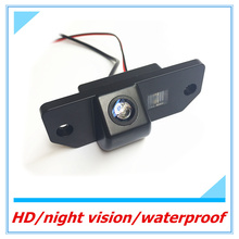 CCD Rearview Camera for Ford Focus 2 sedan (2005-2011), C-Max(2003-) Reverse camera Waterproof Night vision Parking line display(China)