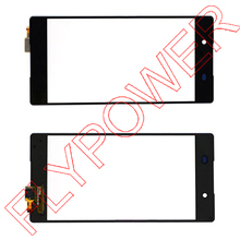 Touch Screen Digitizer Glass Lens For Sony For Xperia Z3+ Z4 E6533 E6553 Touch panel Replacement Black by free shipping;(China)