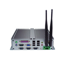 Embedded Computer IPC D525 CPU 4COM Low-power Fanless Embedded Box PC Industrial Machine Dust-vehicle High Temperature resistant