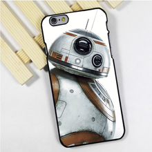 Fit for iPhone 4 4s 5 5s 5c se 6 6s 7 plus ipod touch 4 5 6 back skins phone case cover The Force Awakens BB8 Droid Star War