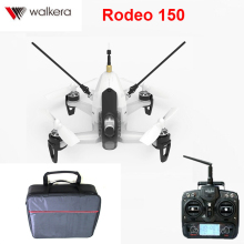 Original Walkera Rodeo 150 with Handbag Backpack 5.8G 40CH with 600TVL Night Vision Camera 3D Aerobatic Mini FPV Racer RTF