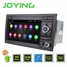Joying 7 inch 2 din Quad Core Android 5.1 For Audi A4/S4/RS4 (2002-2008) Backup Camera Navigation Car Stereo WiFi 3G Radio 1080P
