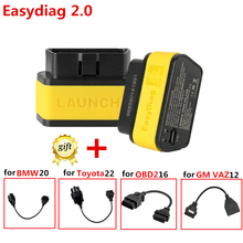 Hot Update Online Launch X431 Easydiag 2.0 For Android/iOS 2 in 1 Auto Diagnostic-tool support all cars with 16-pin OBD port