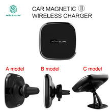 Nillkin for Samsung Galaxy S7 Edge S8 plus Note 8 Note 5 Car Magnetic II Wireless Charger Holder Air Vent Mount Pad for iPhone X(China)