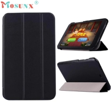 "Beautiful Gift New Luxury Tri-Fold Ultra Slim Stand Case Cover For 8"" HP Stream 8 Tablet PC Wholesale price Jan18"