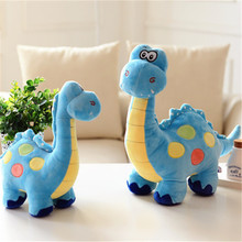 38cm Kawaii Long-necked Dinosaur Plush Toys Cute Tanystropheus Dradon Stuffed Dolls for Baby Boys Girls Kids Children(China)