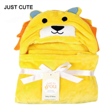 Winter Cute Lion Hello Kitty Animal Cotton Baby Blankets Newborn Bedding Photography Props Fleece Chunky Blanket Swaddle