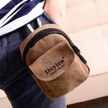 The new retro canvas bag document bag small pockets Wallets phone manufacturers