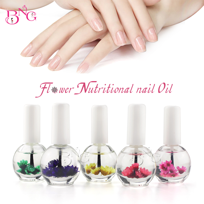 BNG 1pc 14ml Dry Flower Nourishment Oil Nail Cuticle Processing Tools Nutritional Nail Oil UV Gel Nail Treatment Lacquer 9
