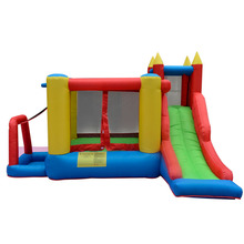 Inflatable Toy Bounce House Outdoor Inflatable Bouncy Castle Jumping Toys Inflatable Water Slide Toy For Child Brinquedos(China)