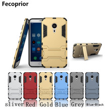 Fecoprior M 5 Brand Name Hard PC Silicon Frame Back Cover For Meizu M5 Back Covers Android Smart Phone Celulars Coque Fundas(China)
