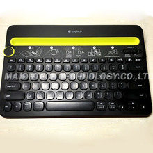 100% Original Logitech K480 portable wireless keyboard Bluetooth Multi-Device Keyboard for Computers/Tablets/Smartphones(China)