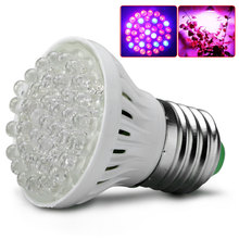LED Lighting E27 LED 220V 38 LED Plant Grow Light Indoor Hydroponic Flower Vegetable Hydroponic Greenhouse Lamp(China)