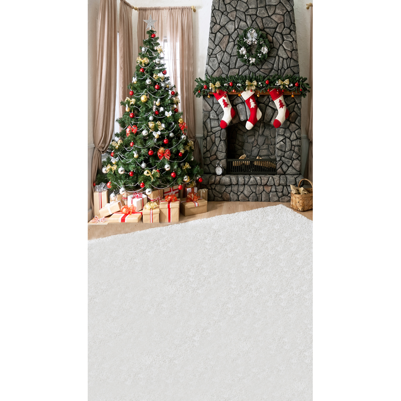 5X8ft free shipping Christmas backdrops Customized computer Printed vinyl photography background  for photo studio st-436<br><br>Aliexpress