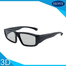 10pcs/Lot Free Shipping Plastic 3D Glassess IMax Cinema System Glasses Linear Polarized 3D Glasses used for 3D movie 3D video(China)