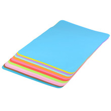 Food Grade Waterproof Silicone Placemat Bar Mat Baby Kids Colorful Plate Mat Table Mat Kitchen Accessories Tableware Pads