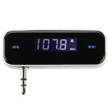 Car FM Transmitter for iPod / iPhone 3G / 3GS / 4S / MP3 / MP4 Wireless 3.5mm Jack Full Frenquency Range Memory Last frenquency